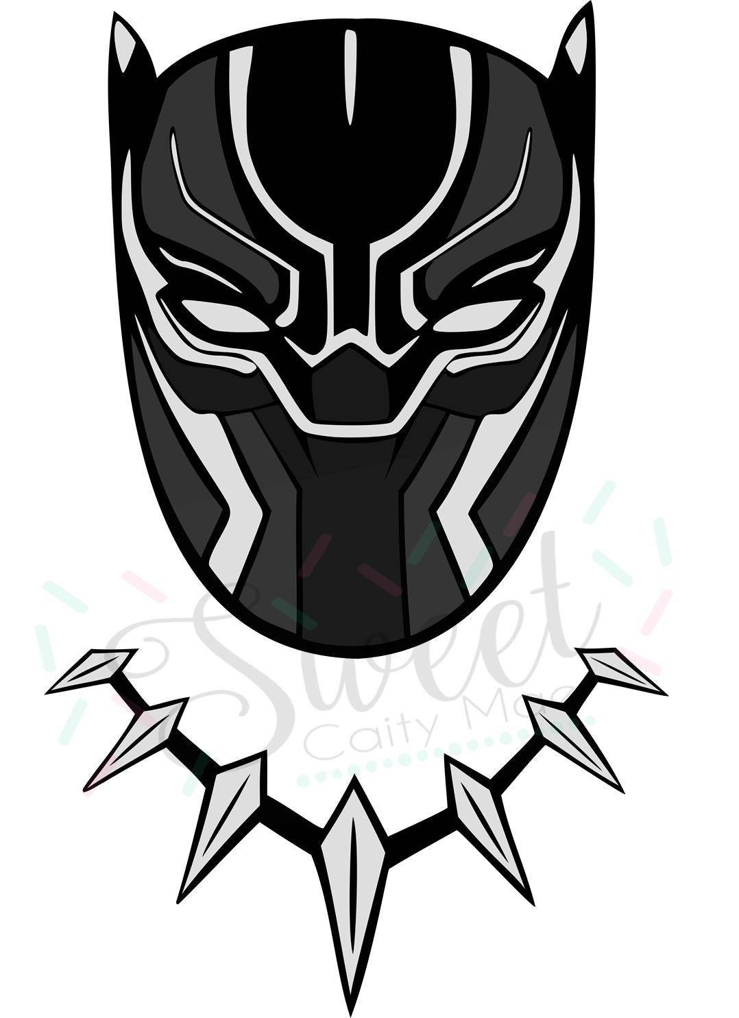 Panther Face Vector