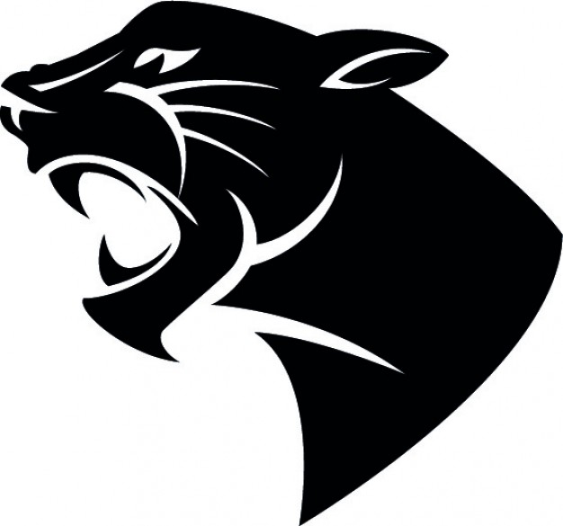Panther Face Vector at GetDrawings.com | Free for personal ...