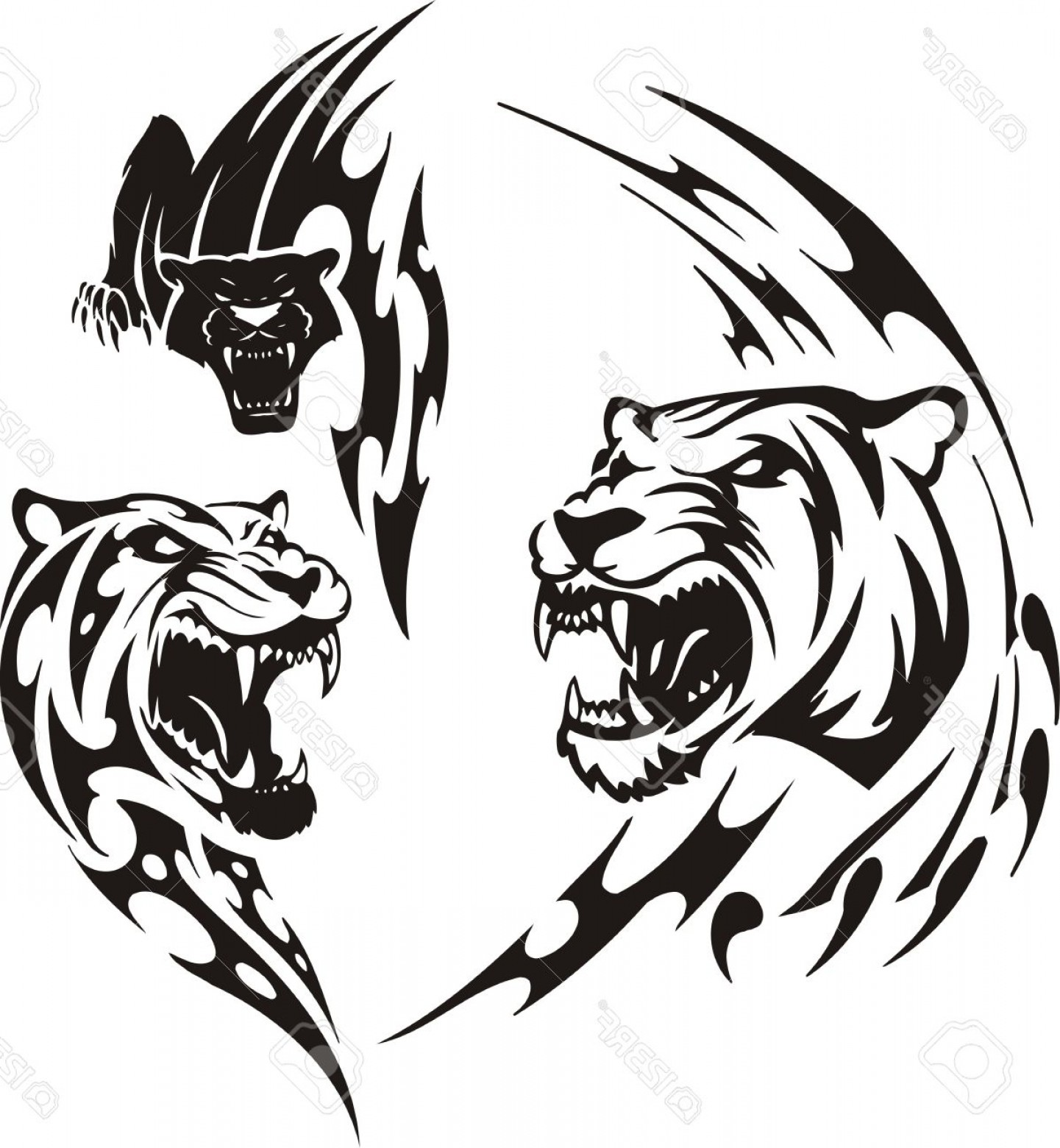 Panther Vector at GetDrawings com | Free for personal use