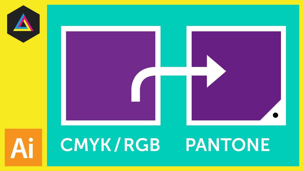 1280x720 Cmyk Rgb To Pantone Converting Colours In Adobe Illustrator