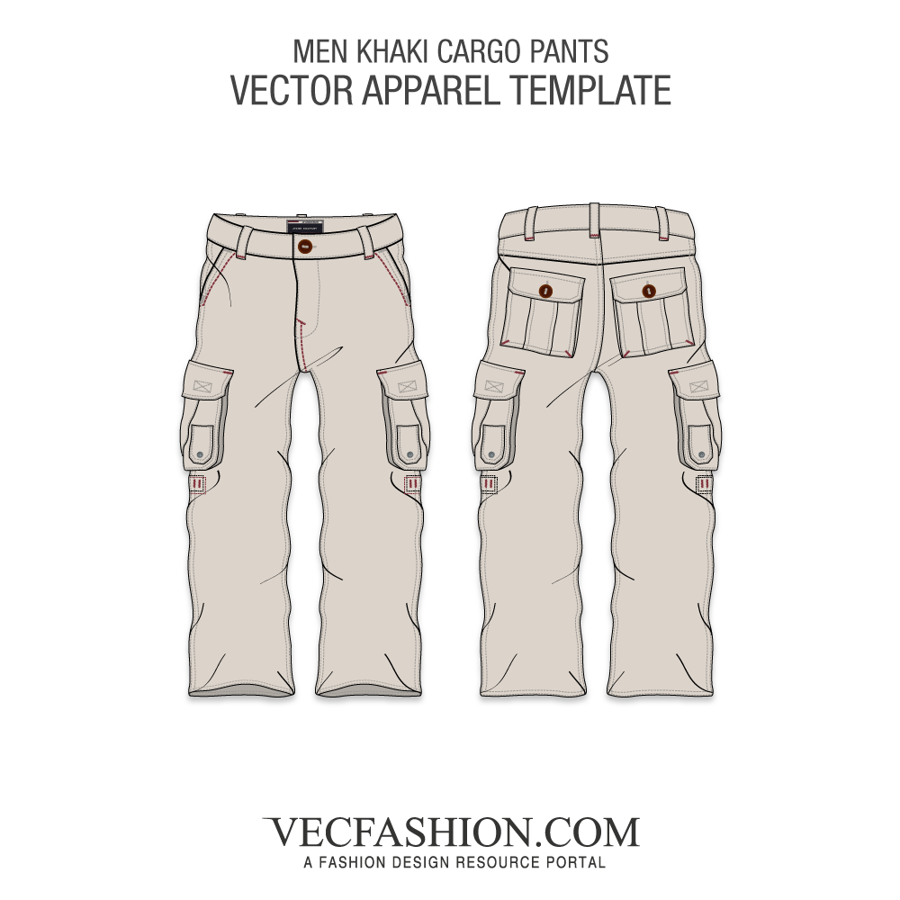 1000x1000 Military Inspired Vector Cargo Pants