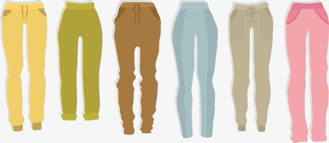 650x283 Vector Pants, Pants, Vector, Women Pants Png And Vector For Free
