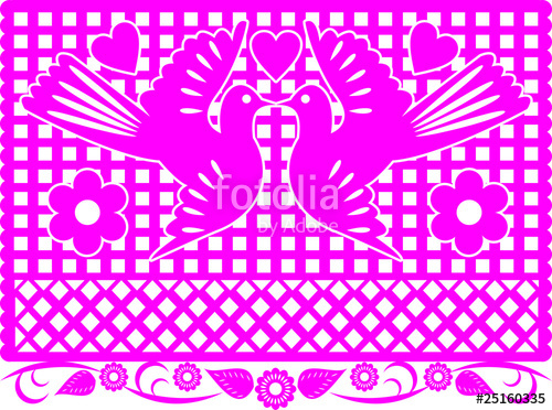 500x372 Mexican Decoration Papel Picado Stock Image And Royalty Free