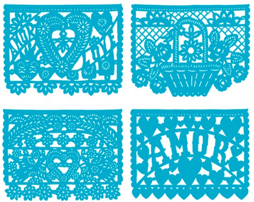 500x397 Papel Picado Banner From My Dog Eared Pages