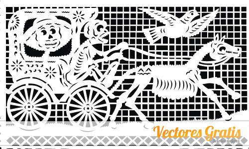 500x300 Papel Picado En Vector Vectores Gratis