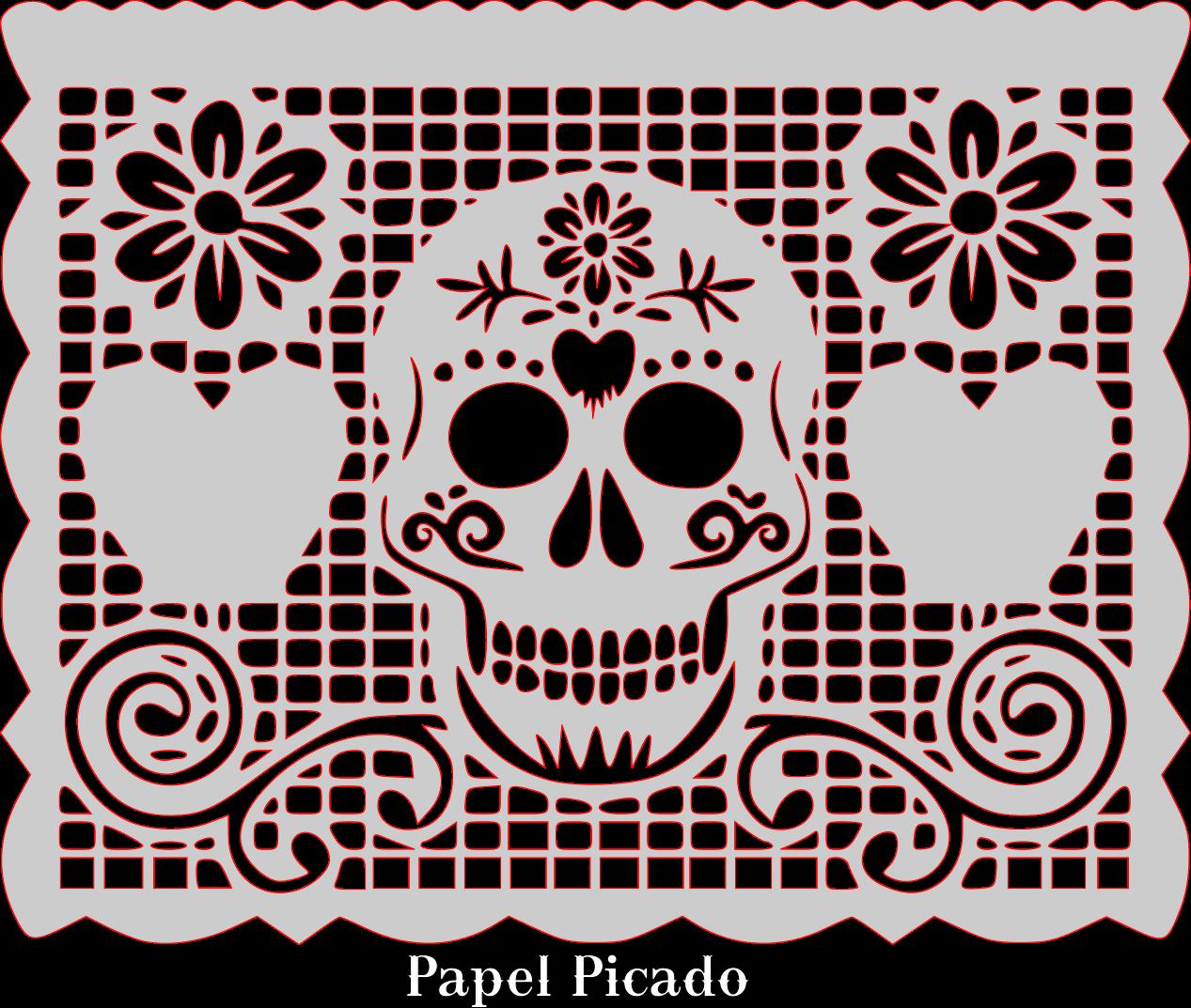 1267x1073 Papel Picado Clipart Vector, Papel Picado Vector Transparent Free
