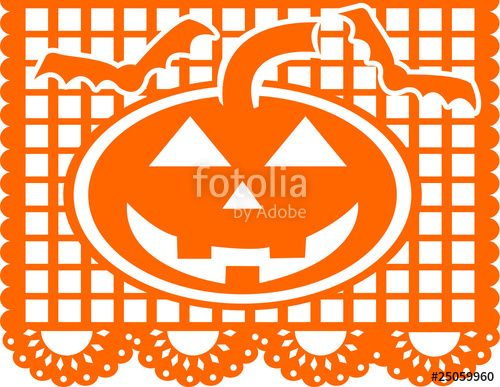 500x387 Download The Royalty Free Vector Papel Picado Designed By