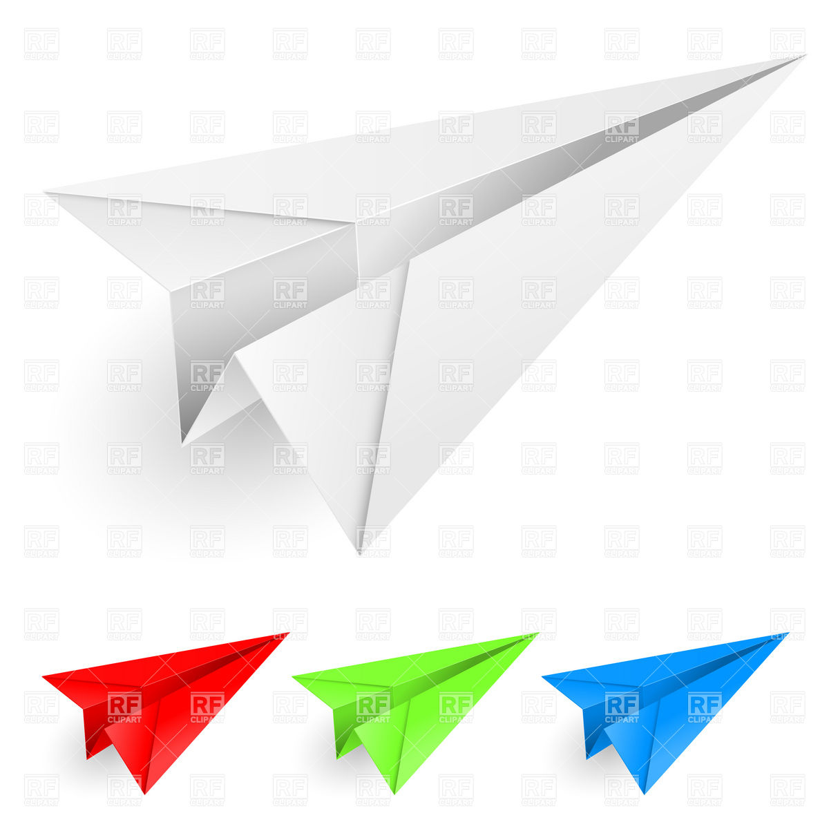 Paper Airplane Templates | Paper Airplane Vector At Getdrawings Com Free For Personal Use