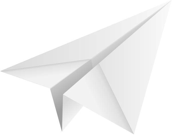 600x473 Paper Airplane Vector Yellow Paper Plane Paper Aeroplane Vector