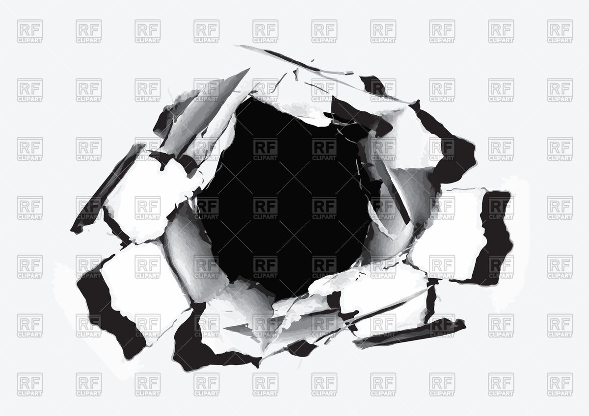 1200x848 Paper Hole With Torn Vector Image Vector Artwork Of Design