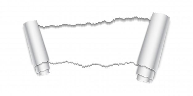 626x313 Torn Paper Hole Vector Premium Download