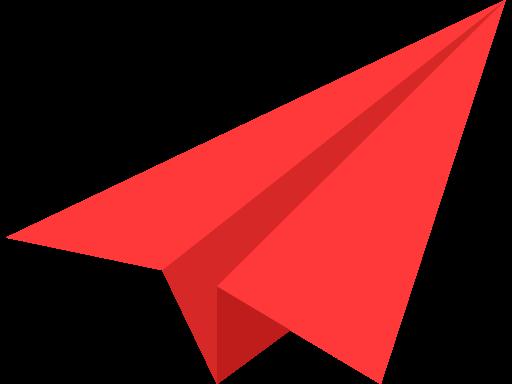 512x384 Paper, Plane Icon