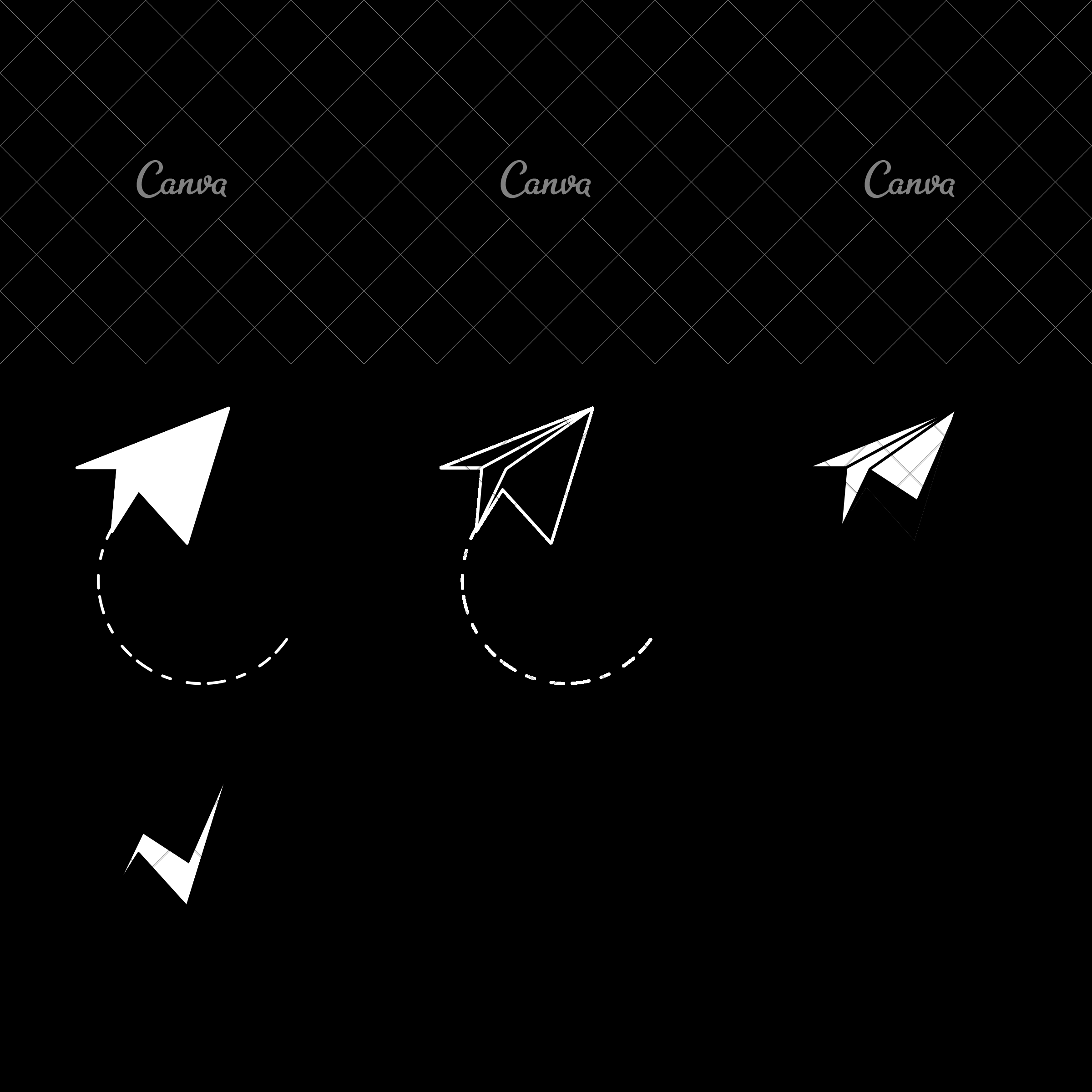 2400x2400 Paper Plane Vector Illustration