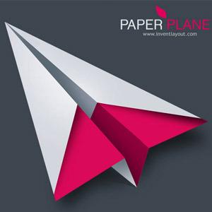 300x300 Paper Plane Vector