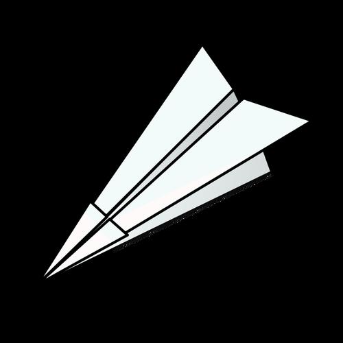 500x500 Paper Plane Vector Illustration Public Domain Vectors