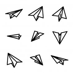 236x236 Download Free Paper Plane Vector Vector Illustration Mini Jardin