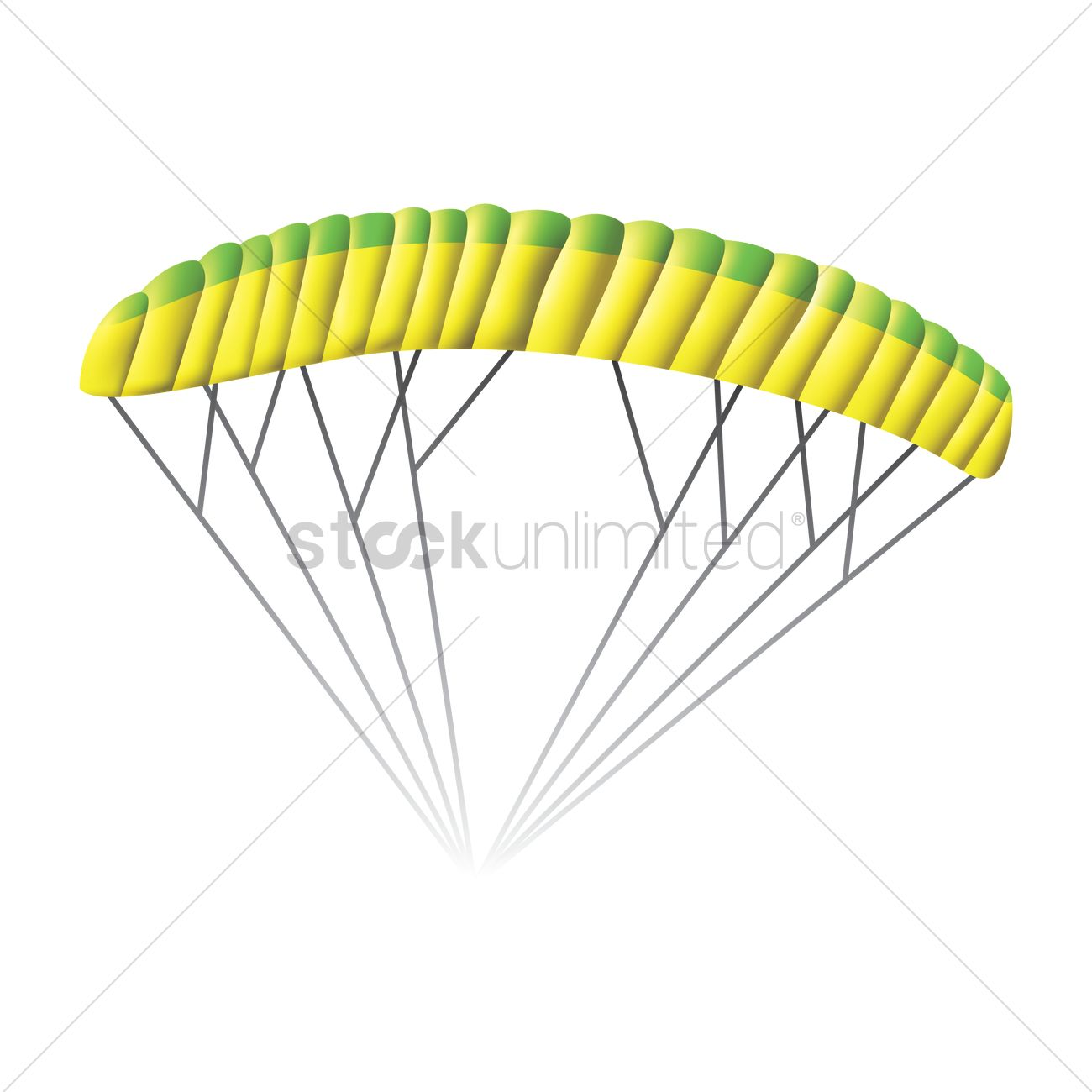 1300x1300 Parachute Vector Image