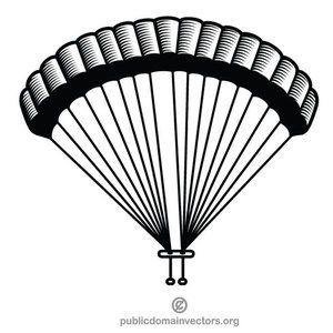 300x300 Parachute Vector Clip Art Graphics Various Vectors In Public