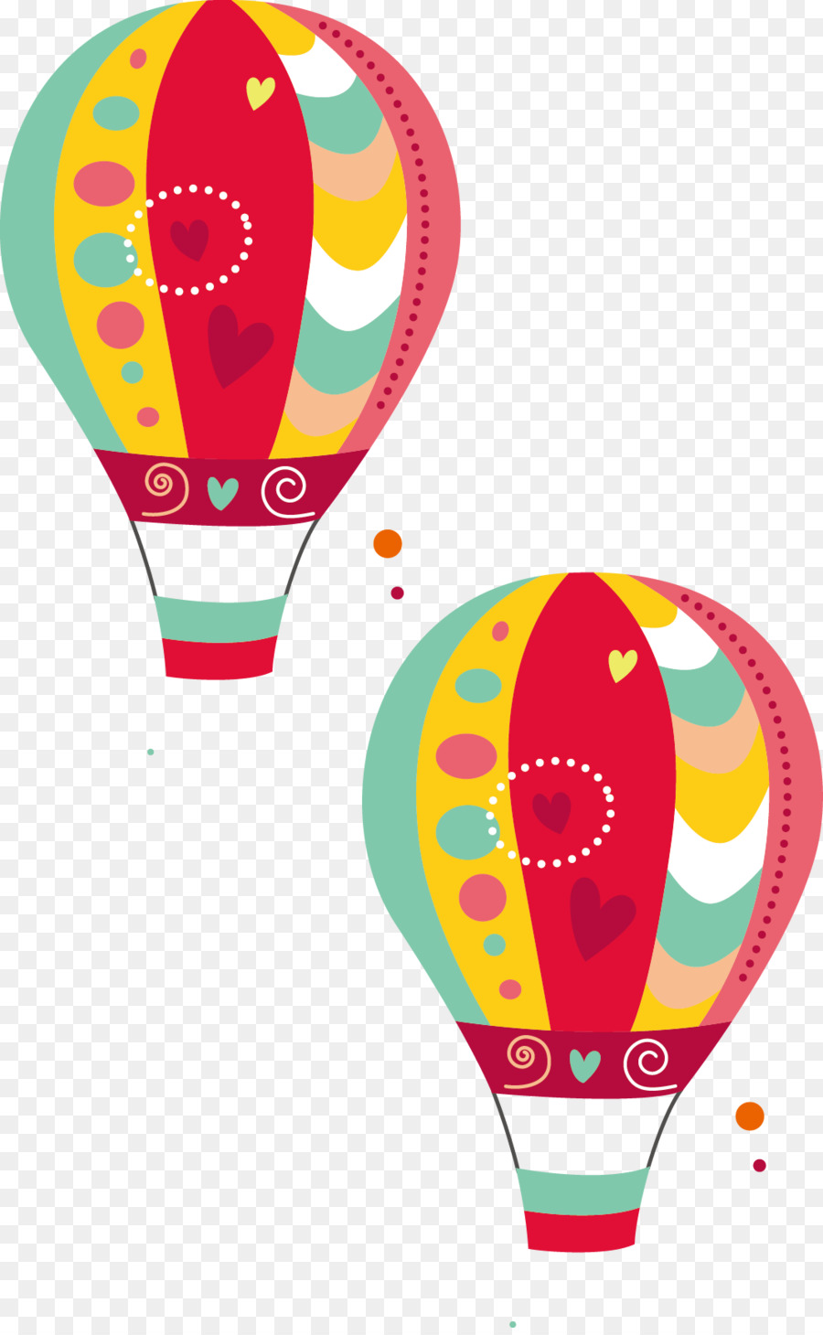 900x1460 Wedding Invitation Birthday Hot Air Balloon