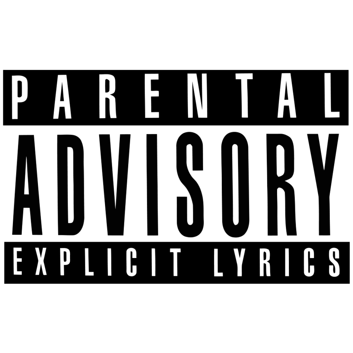Parental Advisory Vector