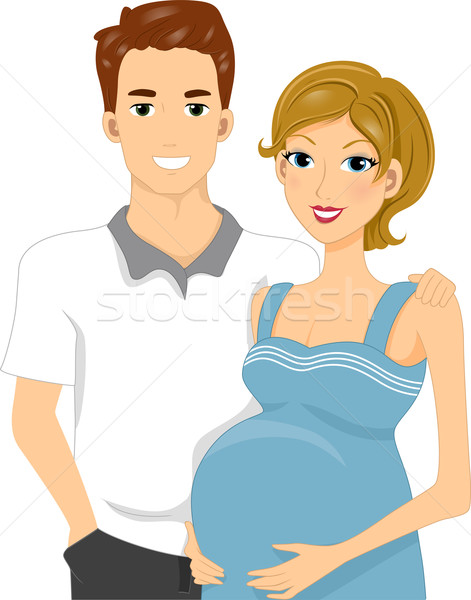 471x600 Expecting Parents Vector Illustration Lenm ( 1489503) Stockfresh