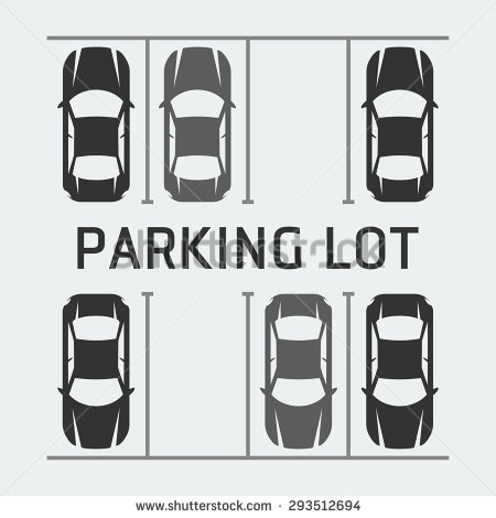 Parking Lot Vector