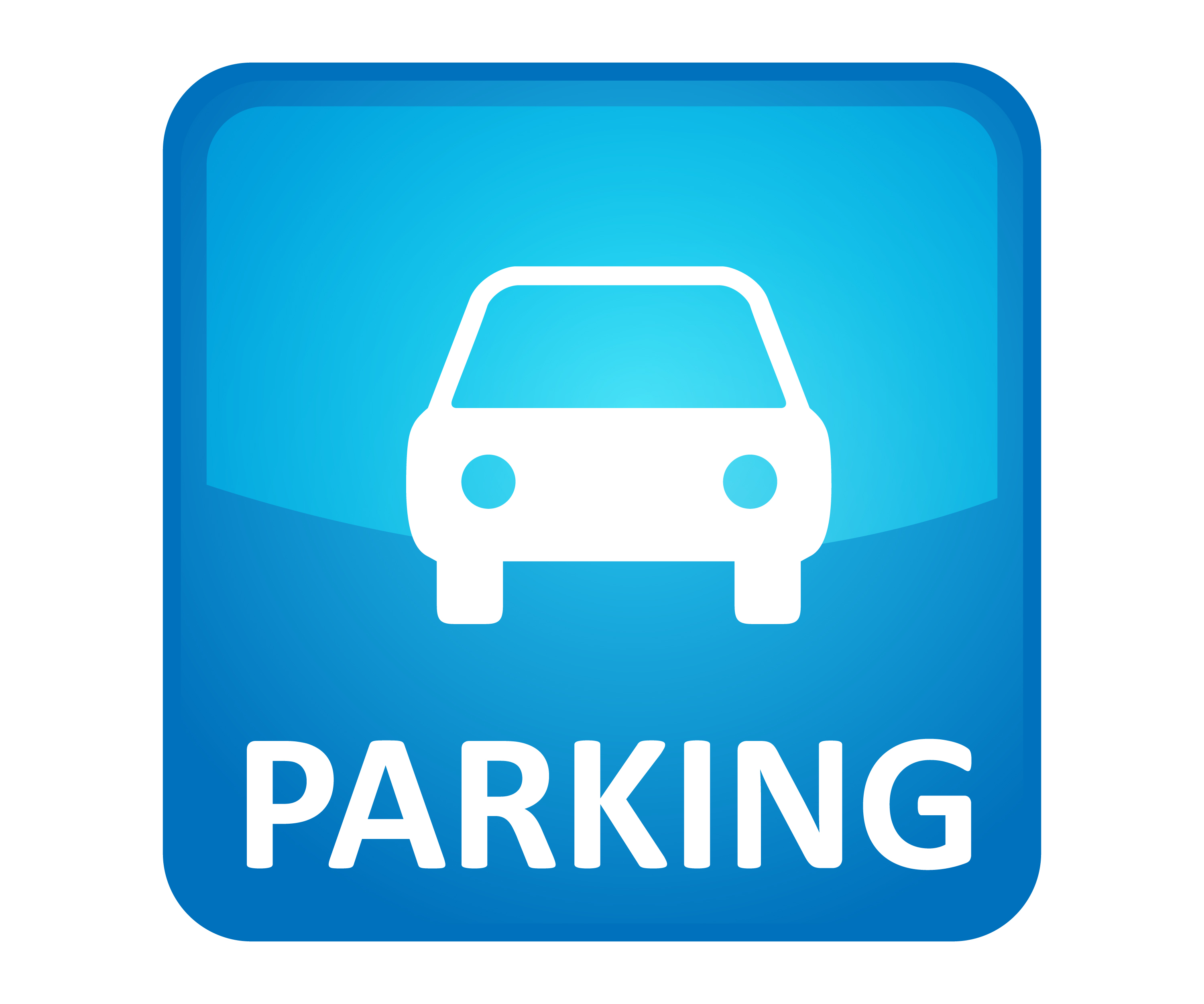 3000x2500 Area Clipart Parking Sign