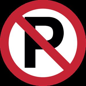 300x300 No Parking Logo Vector (.eps) Free Download