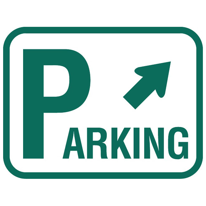 660x660 Parking Traffic Vector Sign