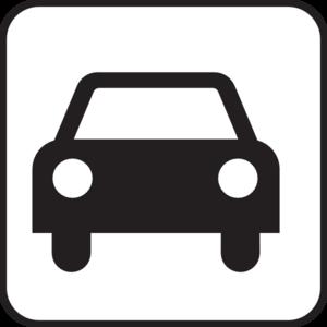 300x300 Car Park Sign Clip Art