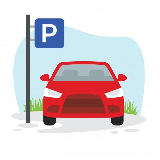 626x626 Car Parking Illustration Vector Premium Download
