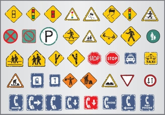 527x368 Car Parking Sign Free Vector Download (9,634 Free Vector) For
