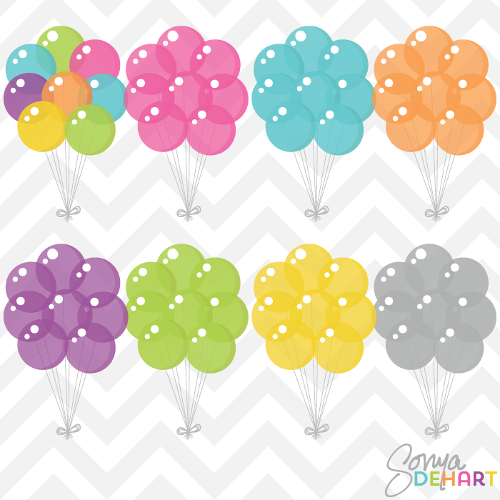 Party Balloons Vector At Getdrawings Com Free For Personal Use