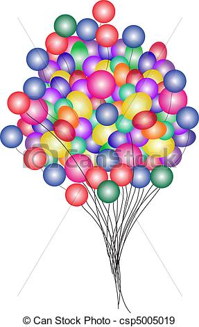 287x470 Beautiful Party Balloons Vector . Beautiful Party Balloons Vector.
