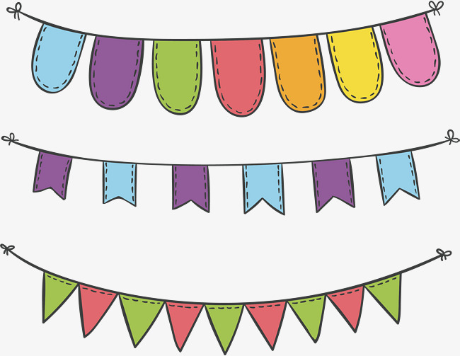 650x503 Carnival Party Decorative Banner, Party Vector, Banner Vector