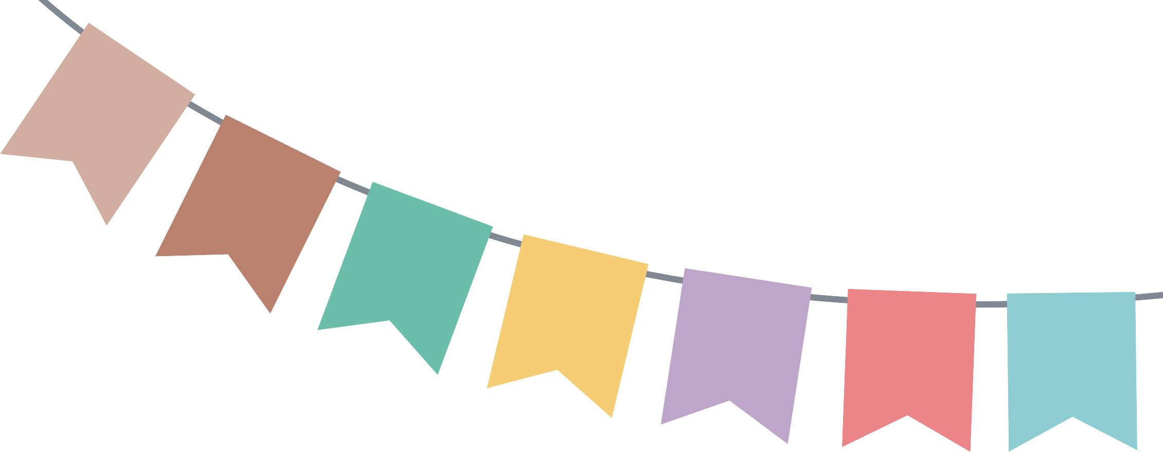 2261x879 15 Bunting Vector Party Banner For Free Download On Mbtskoudsalg
