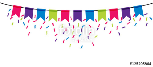500x219 Party Banner Icon On Transparent Background Stock Image And