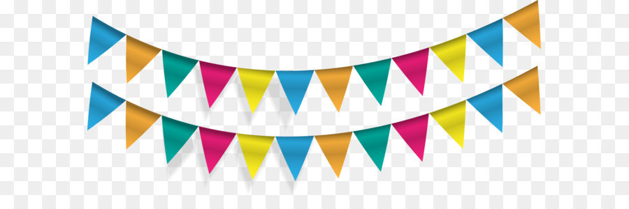900x300 Pennon Flag Banner Party Bunting