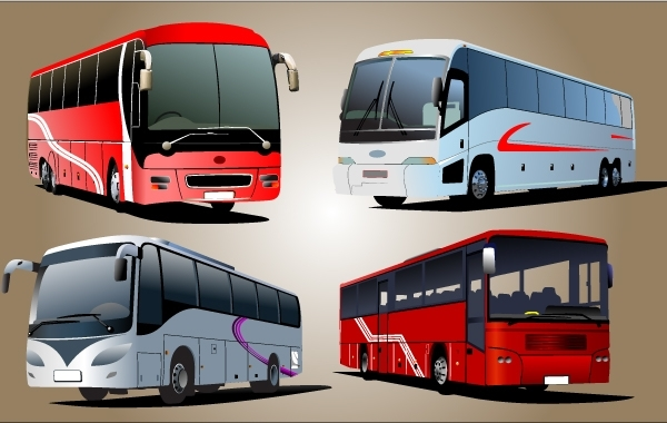 600x380 Free Vectors Luxury Bus Vector Gianferdinand