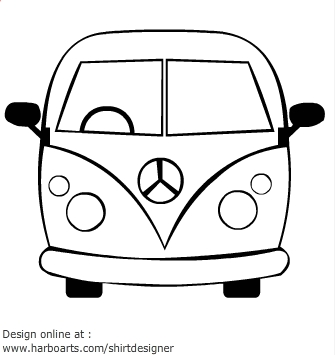 335x355 Hippies Clipart Party Bus