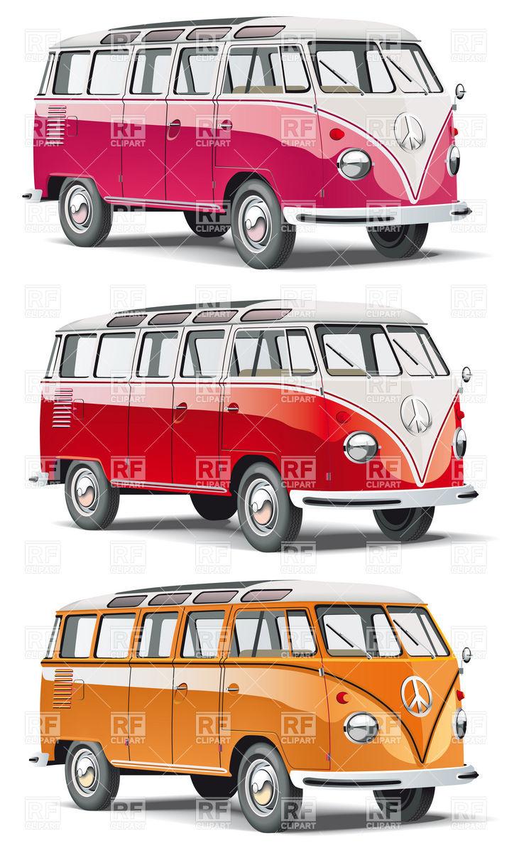 738x1200 Hippy Bus Vector Image Vector Artwork Of Transportation