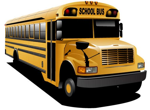 512x375 Bus Vector Design