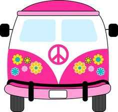 236x225 Colorful Hippie Bus Stock Vector Art More Images Of 1960 1969