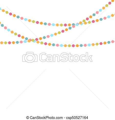 450x470 Party Background With Confetti Vector Illustration. Eps10.
