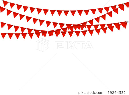 450x334 Party Background With Flags Vector Illustration
