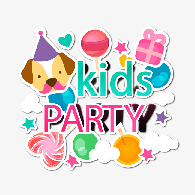 650x651 Children Party Background Vector, Child Party Background, Children