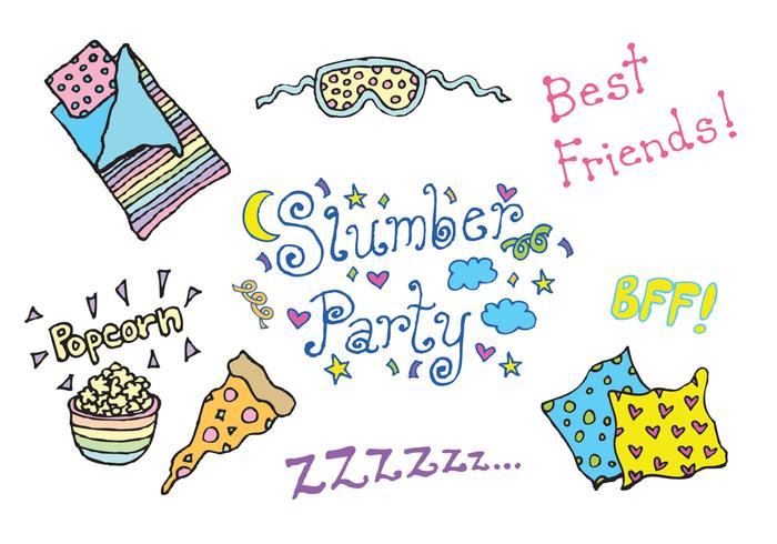 700x490 Free Slumber Party Vector Series