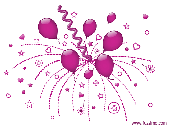 550x413 Free Vector Party Balloons Fuzzimo