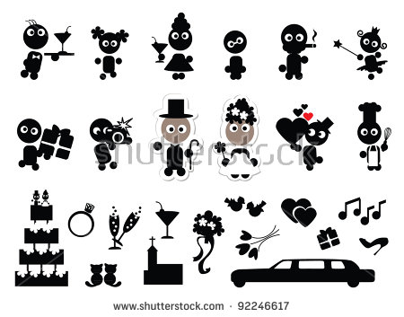 450x353 Wedding Party Vector Icons Download Free Vector Art Stock Wedding