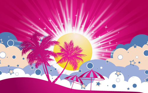 500x317 30 Free Vector Graphics For Your Summer Parties And Events